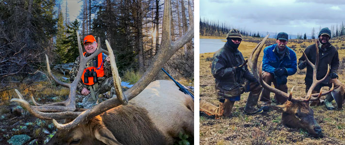 guided hunting creede