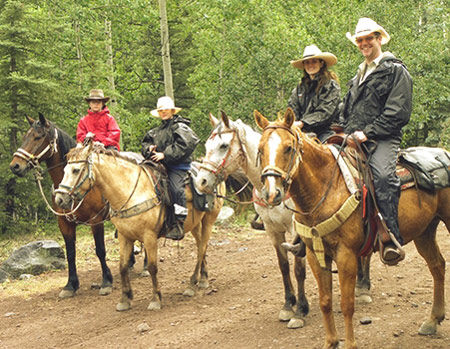 horse day ride creede